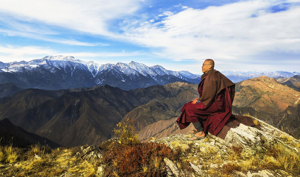 Dass es und gibt und die Berge, das ist das wahre Wunder