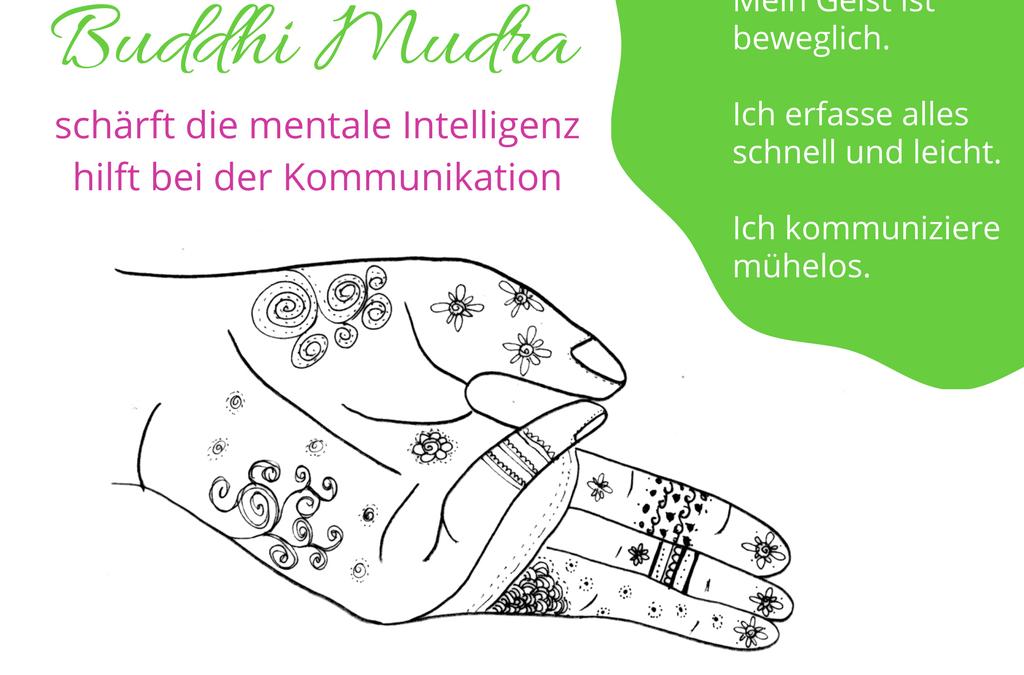 Buddhi Mudra: Macht schnell und schlau