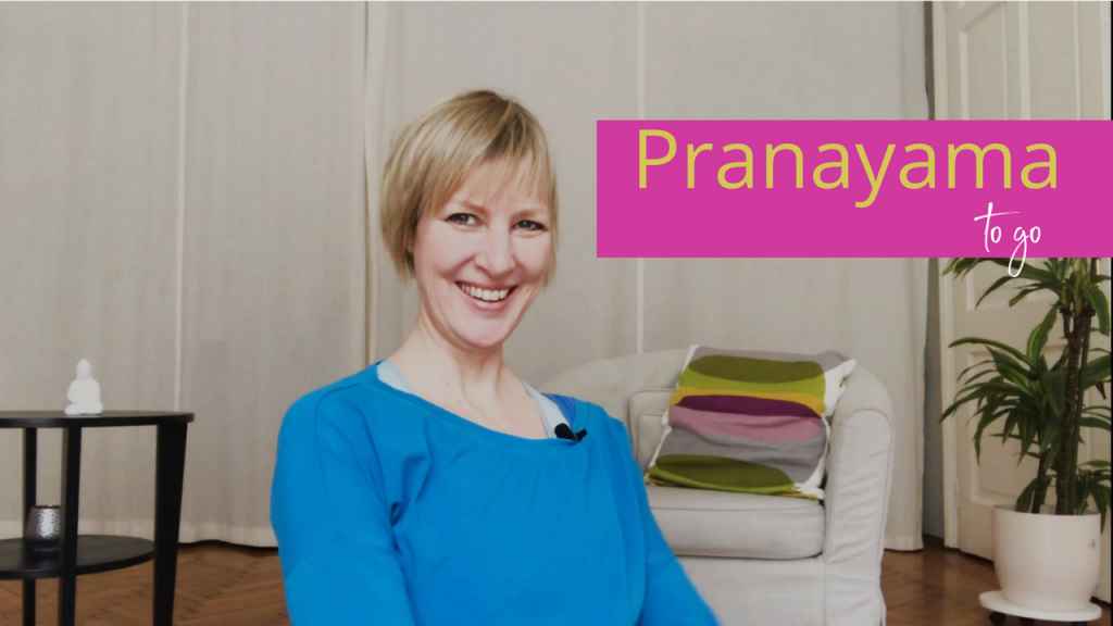 [Video]: Pranayama to go - Kühler Kopf mit Sitali