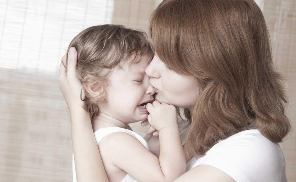 Kinder beherrschen es perfekt - sie lassen ihre Traurigkeit zu, um dann wieder lachen zu können.